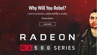 Radeon RX 500 Serie von AMD